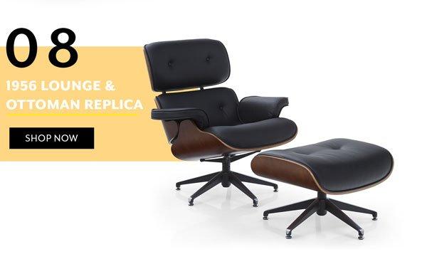1956 Lounge & Ottoman Replica
