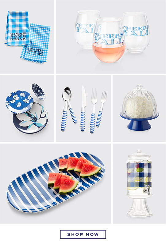 Shop the Draper James x Crate and Barrel collection.