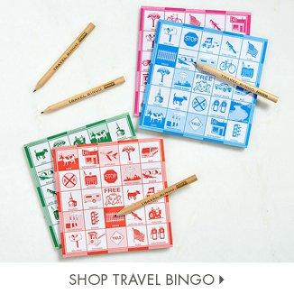 Shop Travel Bingo