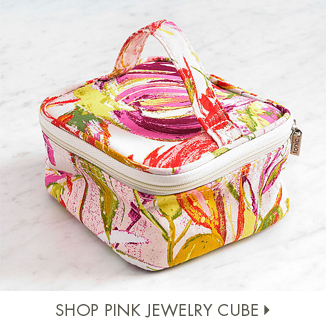 Shop Pink Jewelry Cube
