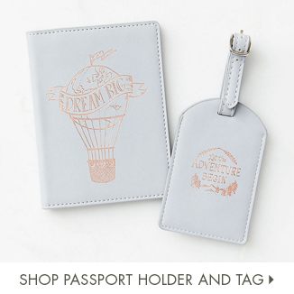 Shop Passport Holder and Tag