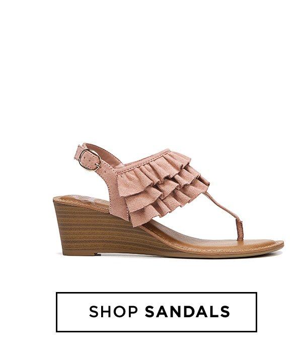 Shop Sandals.