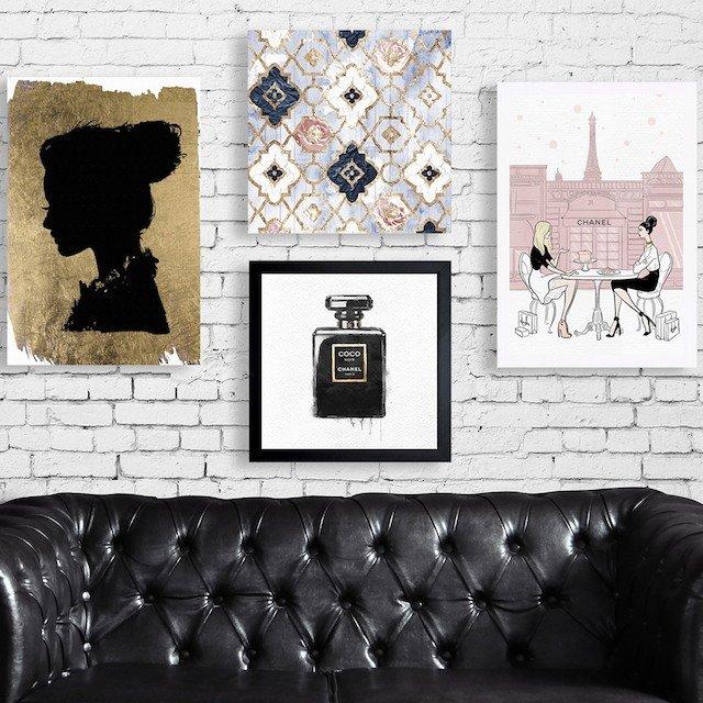Free Shipping: Fashion-Forward Wall Art & Decor