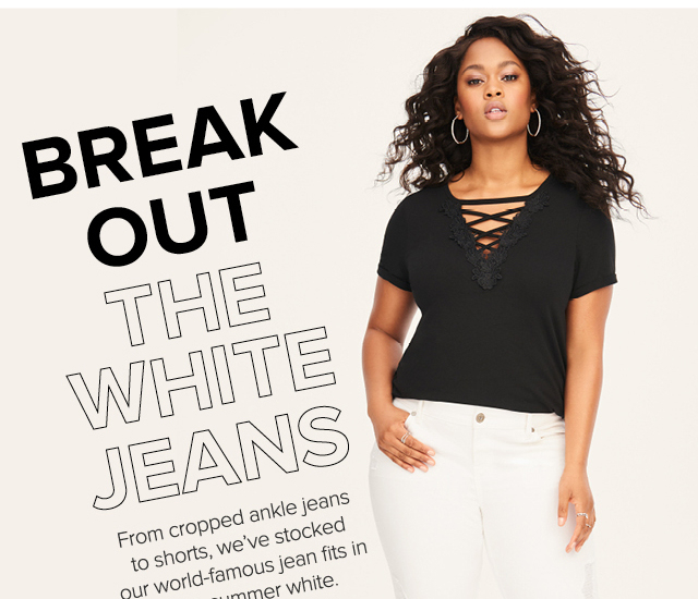 Break Out The White Jeans