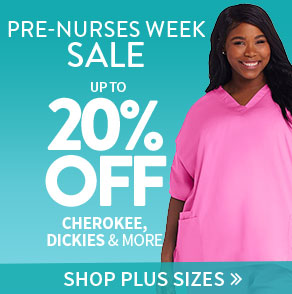 Plus Size Pre-Nurses Week Sale
