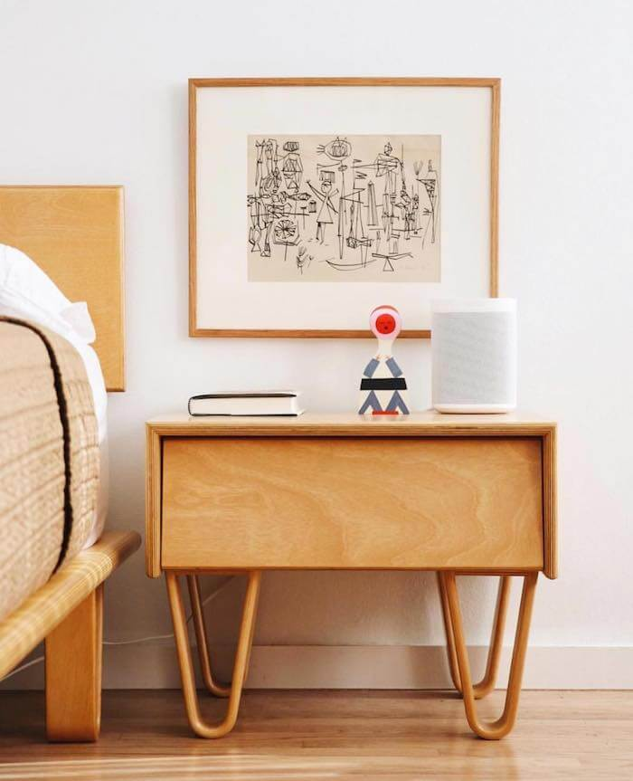 Modernica Sale: Bentwood Bedside Table