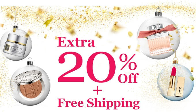 Get Extra 20% Off + Free Int'l Shipping! Offer Ends 6 May 2018.