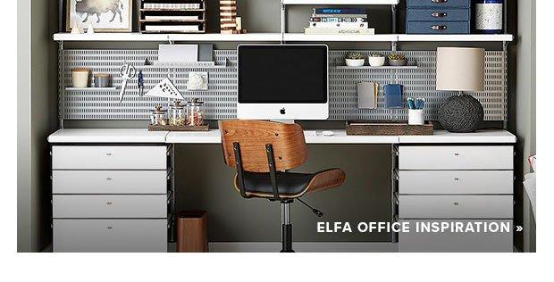elfa Office Inspiration