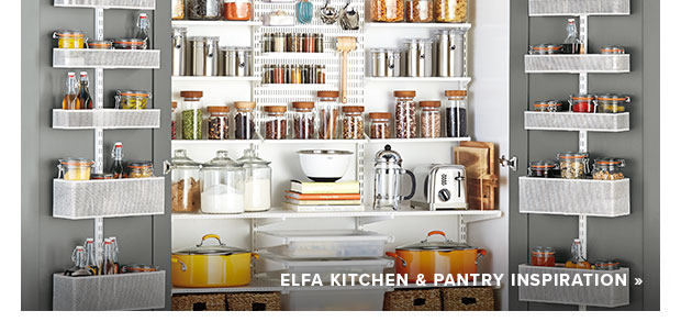 elfa Kitchen & Pantry Inspiration