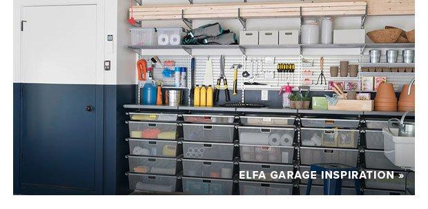 elfa Garage Inspiration