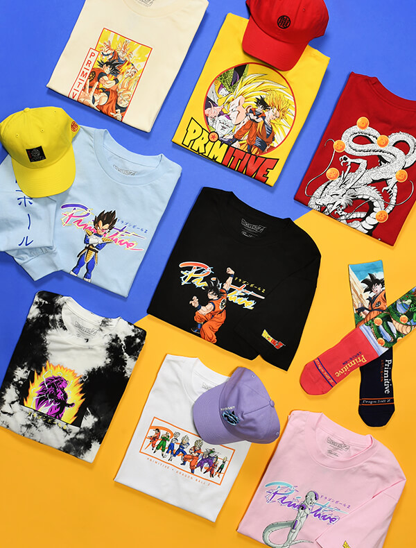 PRIMITIVE X DRAGON BALL Z - New Arrival Collaboration | Shop Now
