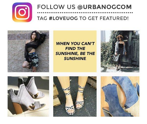 Follow us @urbanogcom