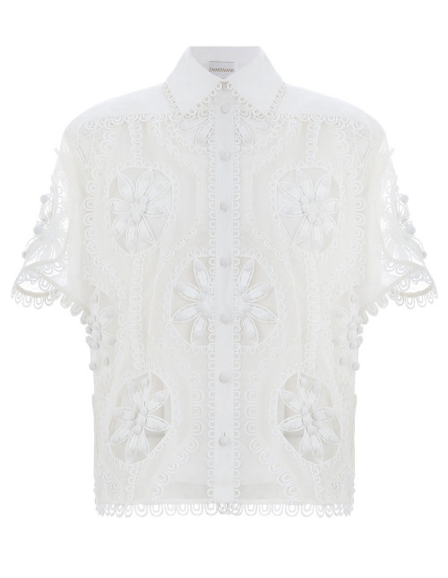 Whitewave Doily Shirt