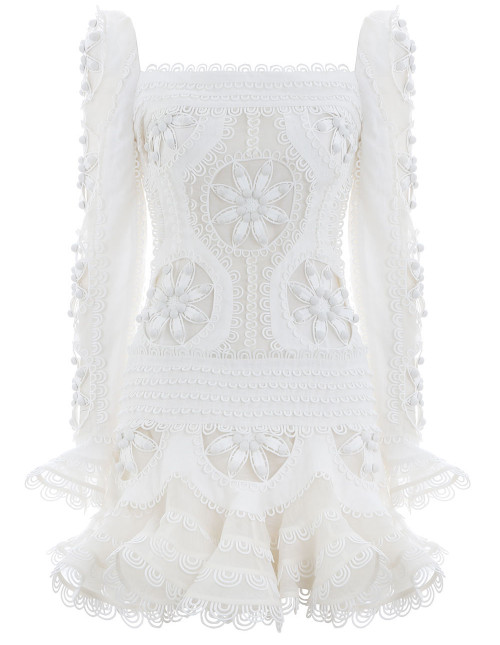 Whitewave Doily Dress