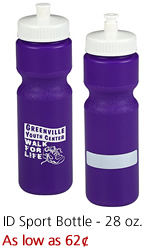 ID Sport Bottle - 28 oz.