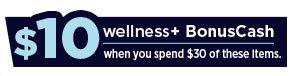 wellness+ BonusCash