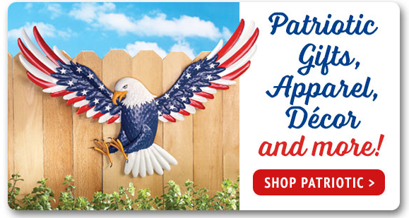 Shop Patriotic Gifts, Apparel, Decor and more!