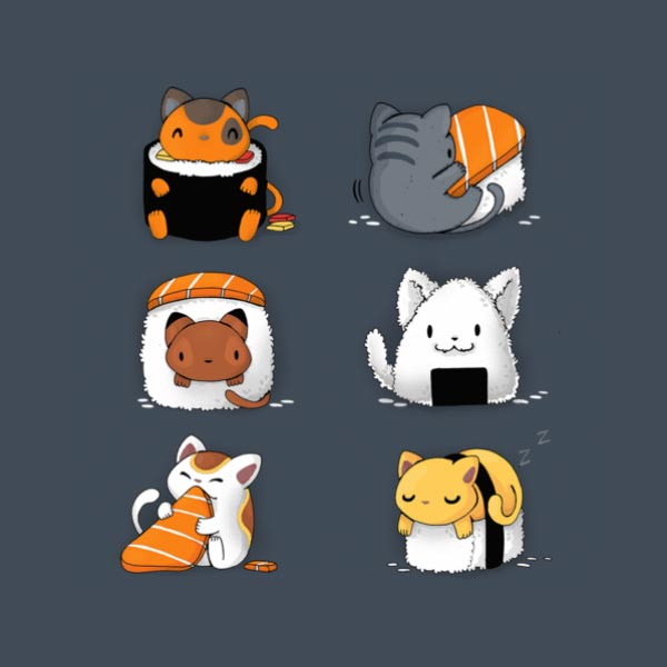 https://teefury.com/products/kitten-sushi