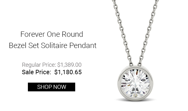 forever-one-1-90ctw-round-colorless-moissanite-bezel-set-solitaire-pendant-in-14k-white-gold