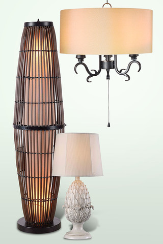 Free Shipping: Outdoor Lanterns, Lamps & More