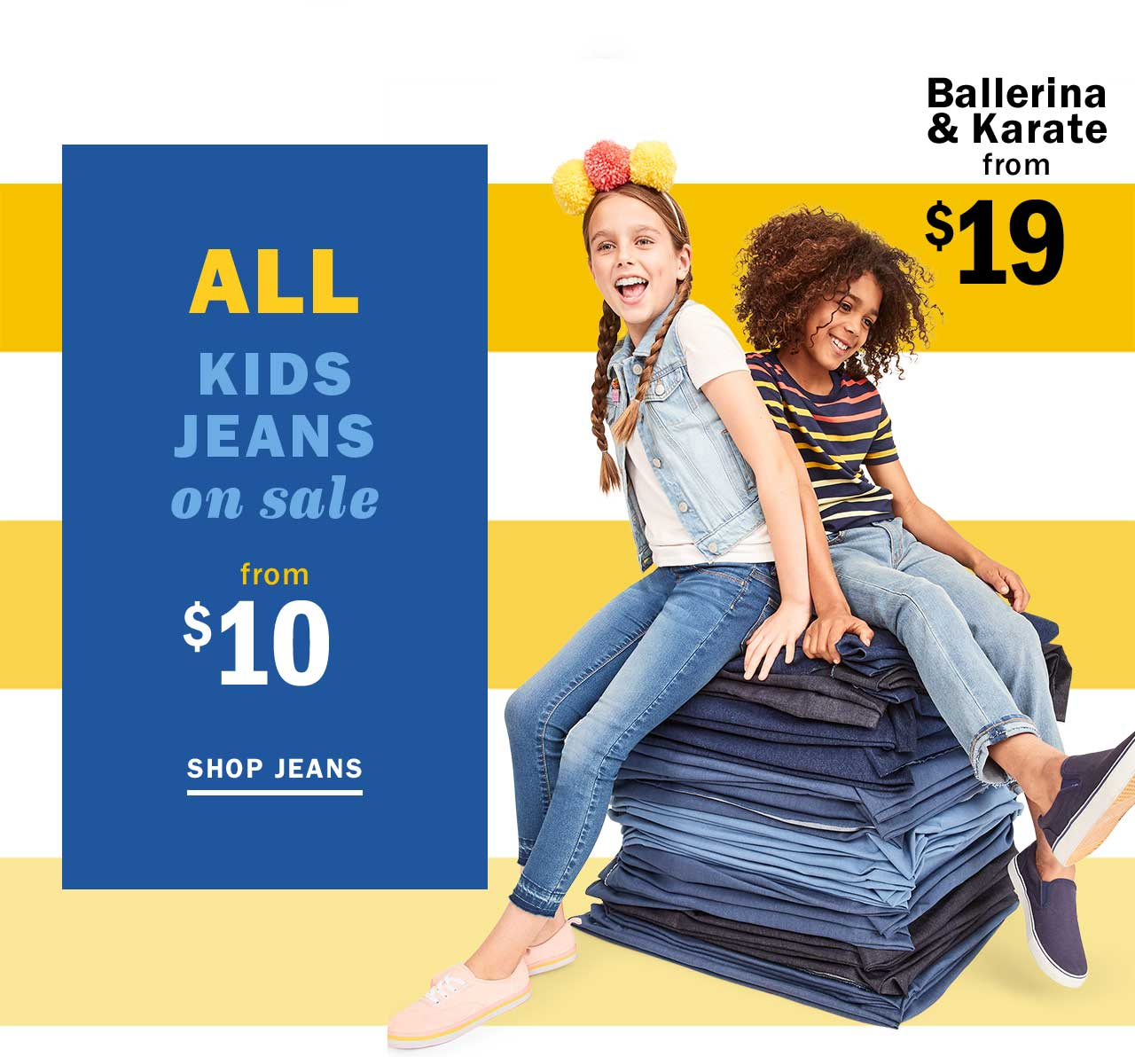 ALL Kids JEANS on sale from $10 | SHOP JEANS