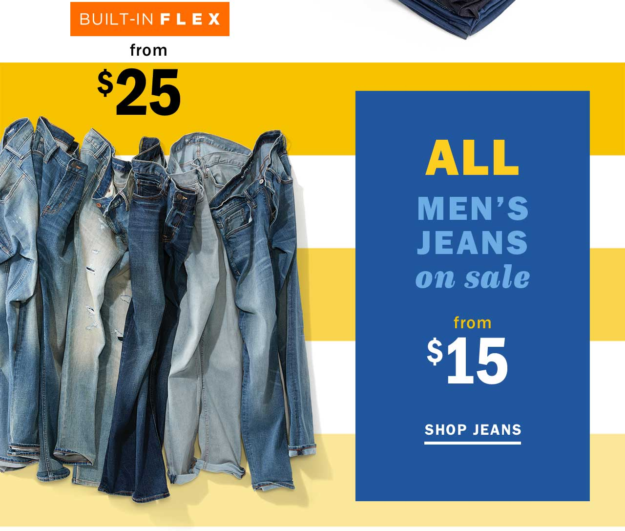 ALL MENS JEANS on sale from $15 | SHOP JEANS