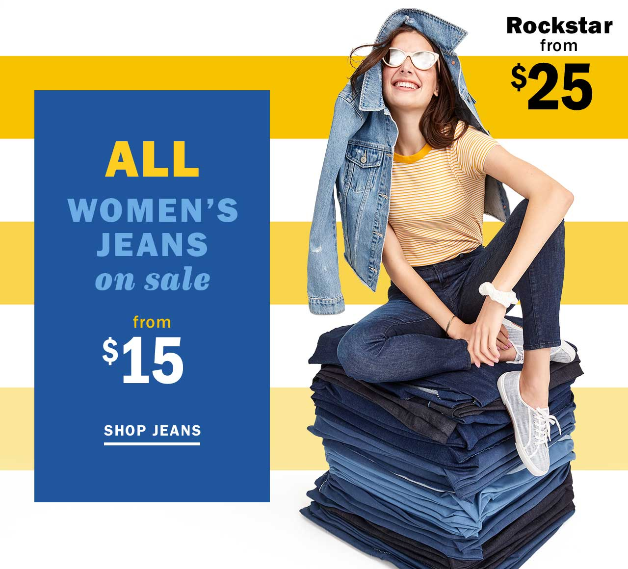 ALL WOMENS JEANS on sale from $15 | SHOP JEANS
