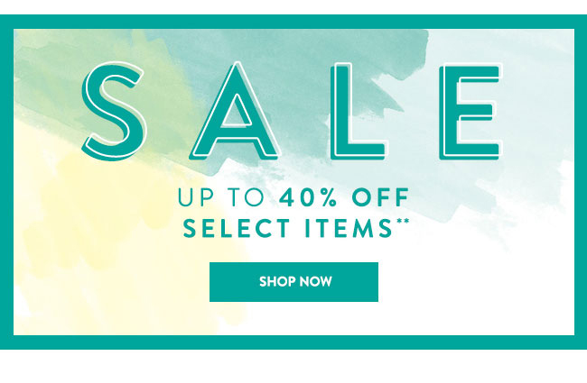 Shop Sale and Get 40% Off