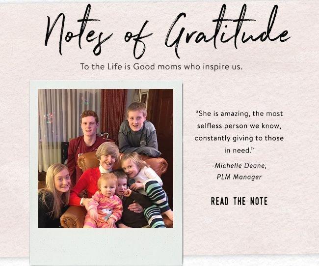 Notes of Gratitude