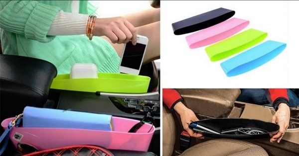 2 Pack: Car Catcher Organizer - 6 Colors