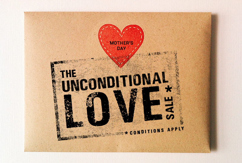 THE UNCONDITIONAL LOVE SALE*