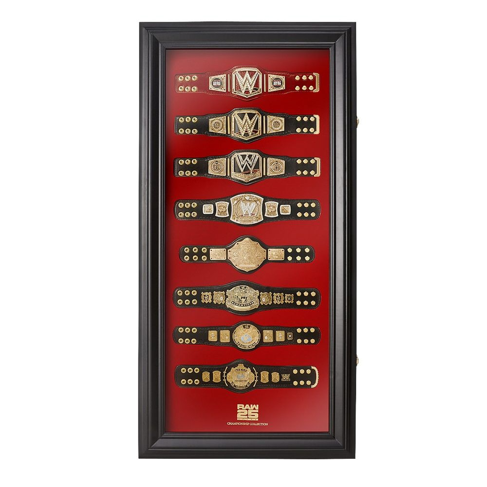 RAW 25 Replica Mini Title Collector's Case