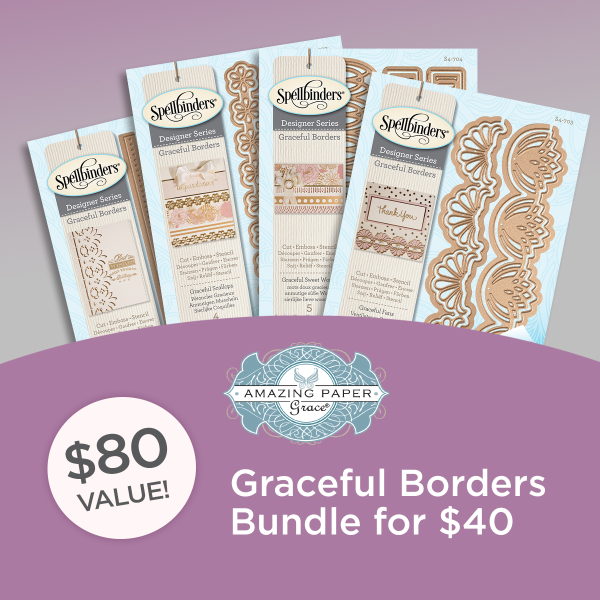 Graceful Borders Bundle