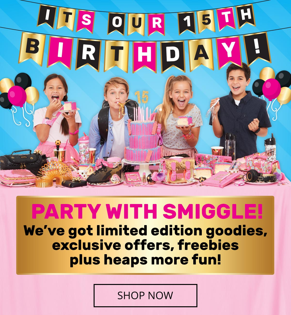party with smiggle