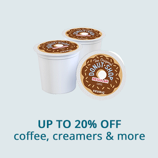 Save up to 20% off coffee, creamers & more