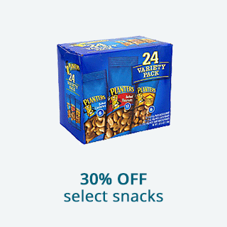 Save 30% off on select snacks