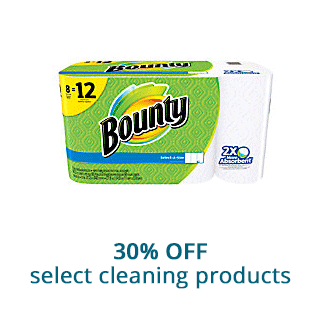 Save 30% off select cleaning products