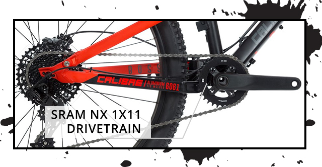SRAM NX 1 x 11 Drivetrain