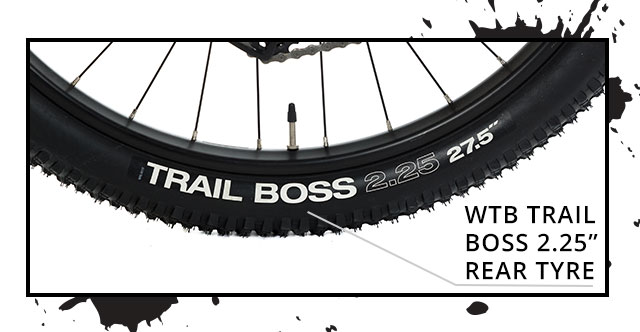 WTB Trail Boss 2.25 Rear Tyre