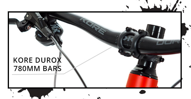 Kore Durox 780mm bars