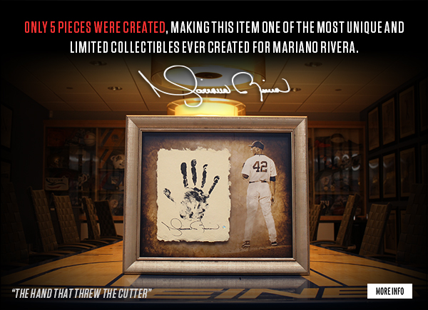 Mariano Riveras Hand Print - Limited Edition of 5