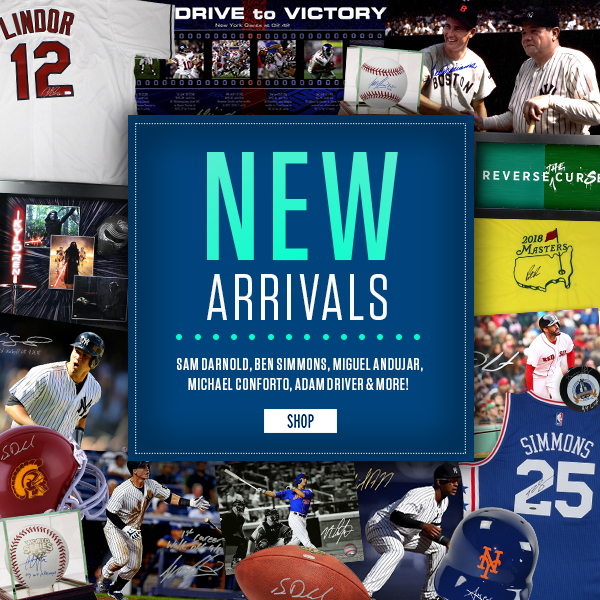 New Arrivals in stock!
