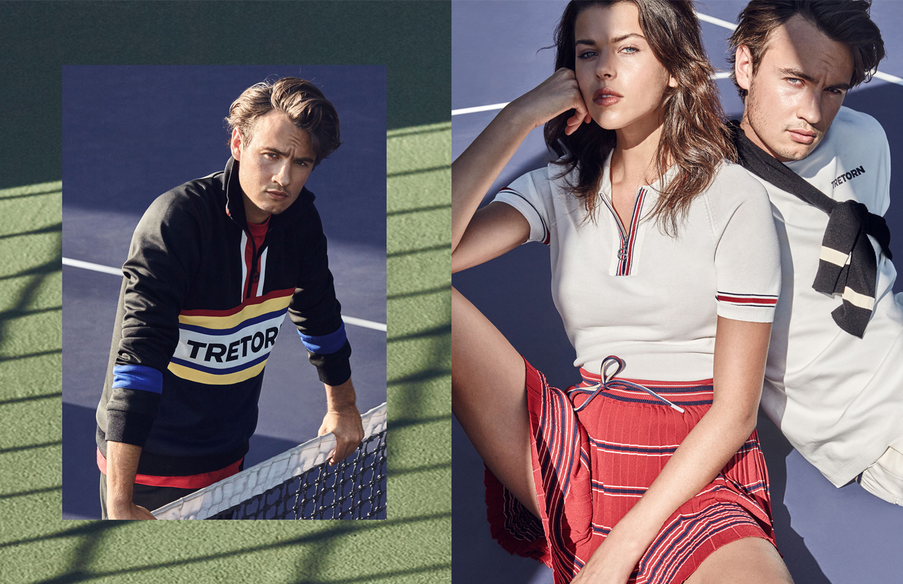 This athluxe collection is created for the on-and-off court lifestyle