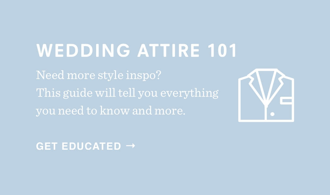 Wedding Attire Guide for 2018