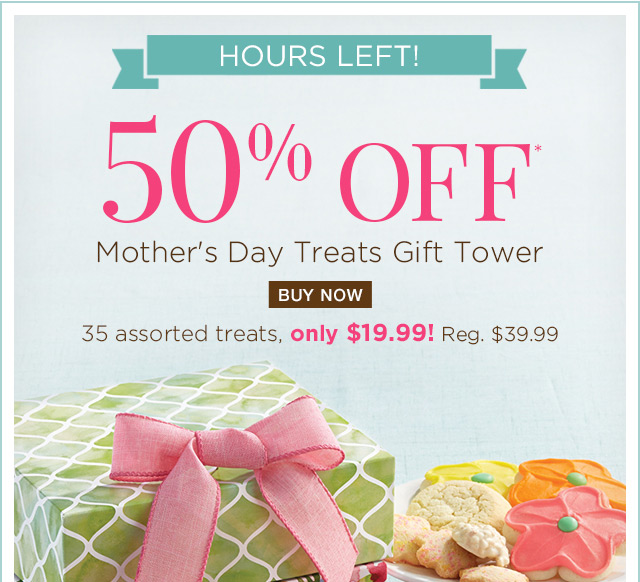 Mother's Day Treats Gift Tower
