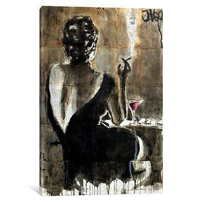 Cocktail by Loui Jover Canvas Print