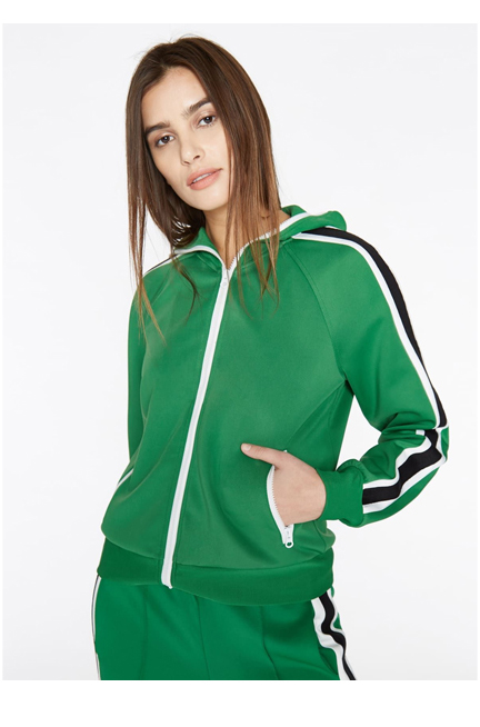 Track Jacket With Stripes