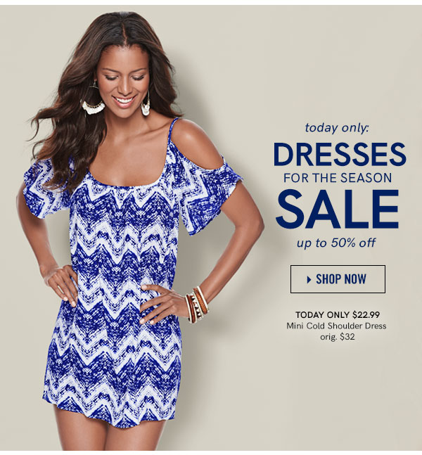 Today Only: Dresses For the Season Sale. Save Up to 50% OFF, Get The Best Dresses For the Best Price!