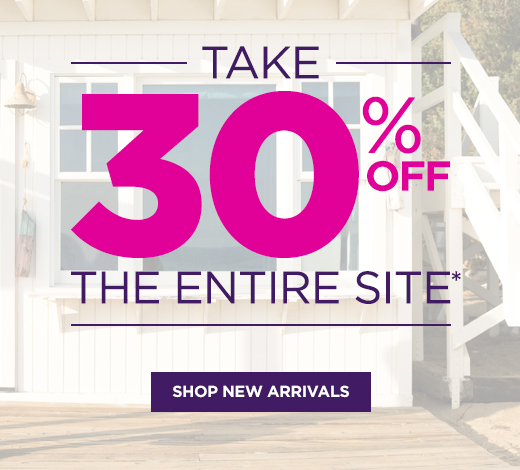 Take 30% OFF The Entire Site - Shop New Arrivals