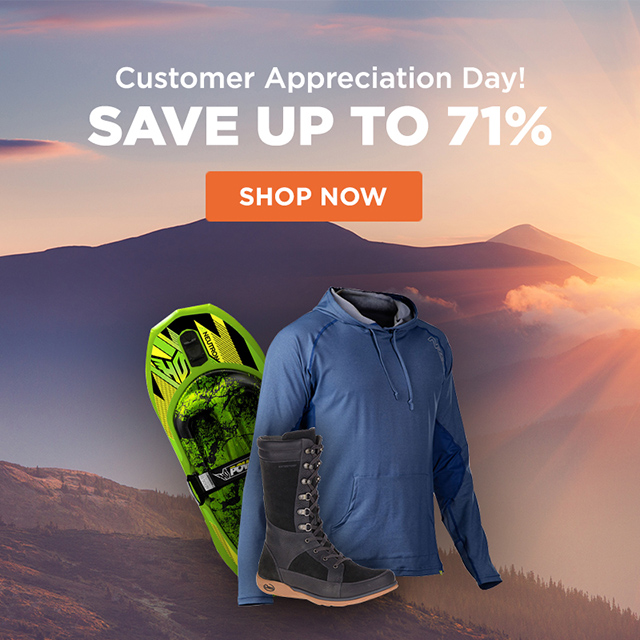 Customer Appreciation Day - Save Up To 71%